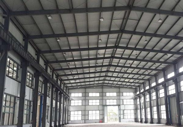 钢结构厂房节能环保及制作施工优势