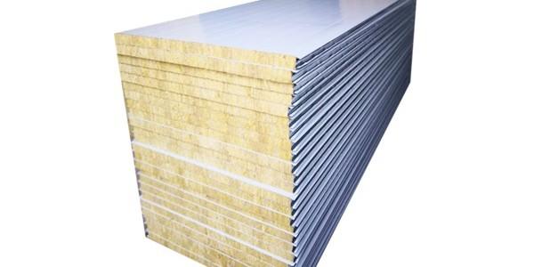 岩棉夹芯彩钢板的性能介绍