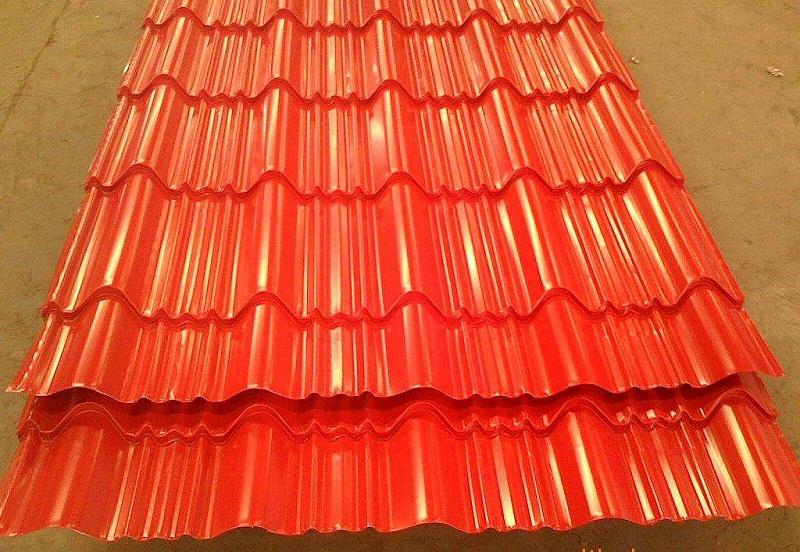 彩钢琉璃瓦和屋脊瓦的安装方法