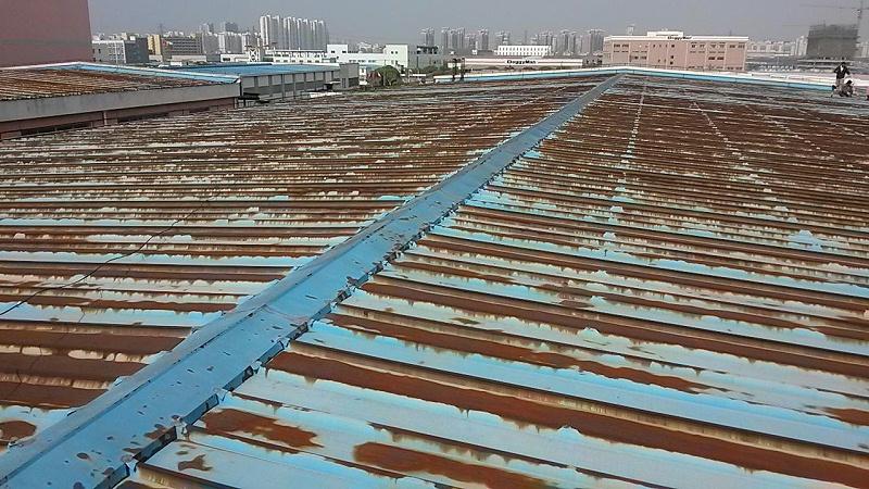 彩钢瓦屋顶腐蚀了怎么办?