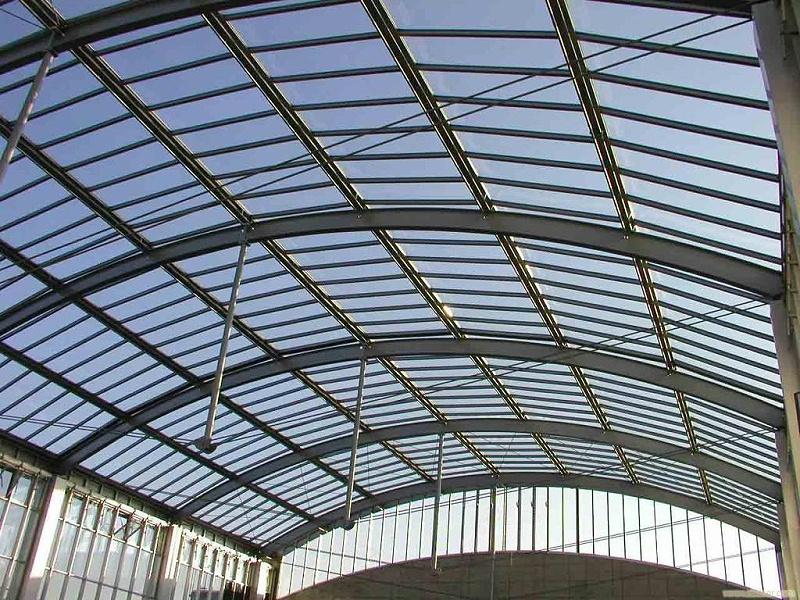 一亩地的钢结构暖棚多少钱?