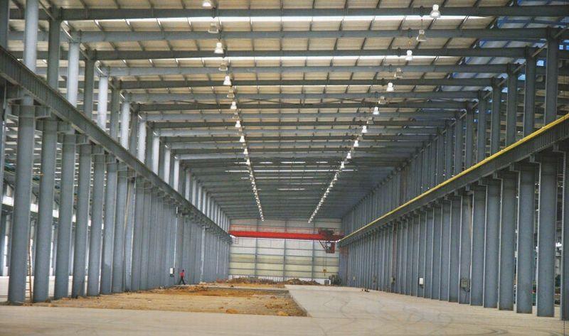 对地基框架钢结构怎么施工?
