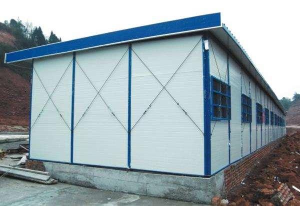 彩钢活动板房在焊接中局部发生变形怎么办?