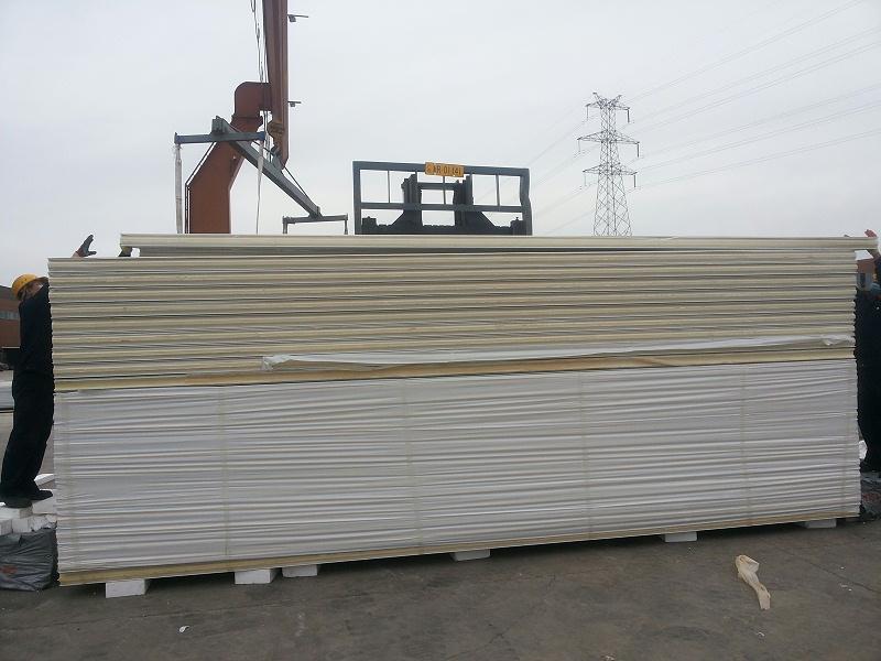 详细叙述彩钢复合板面材和心材种类性能