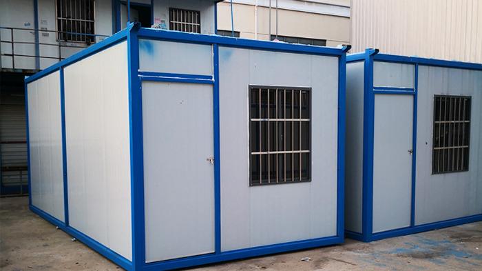 诚工彩板活动板房组装便捷,环保节能
